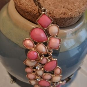 """16"""" Pink Necklace with 3"""" Extention"""